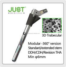 SEE Trabecular 3D Deformity DDH CDH Modular hip prosthesis
