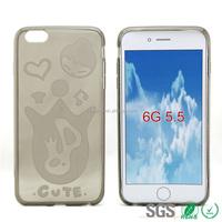 New Arrive Cute Phone case for iPhone6 100% Tpu Material
