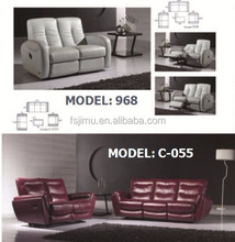 classic living room recliner sofa/contemporary furniture sofa set 1+2+3