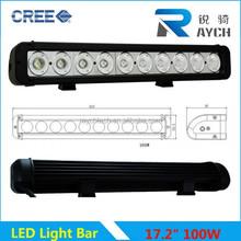 100w Car Accessory Auto Light One Row Offroad Led Light Bar 180w Auto Led Light Bar For ATVs, truck, forklift,trains,boat,marine