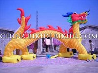 Dragon Shape inflatable arch balloons for events, parties