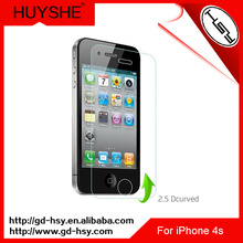 HUYSHE Best price clear mobile screen protector for iphone 4&for iphone 4s
