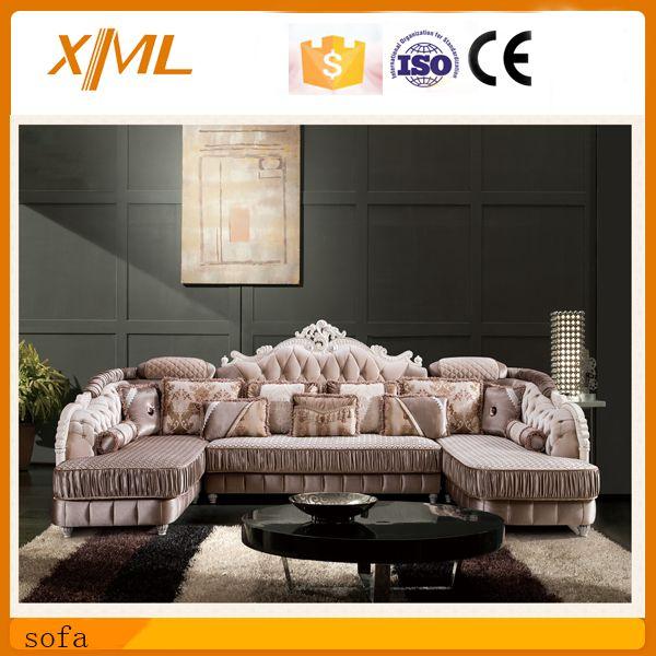 Living Room Furniture Luxury Fabric Sofa