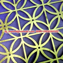 Custom laser cut metal panels/laser cut metal screen