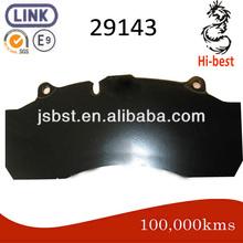 29143 plaquette de frein pour remorque saf haldex mk iv,- modulx db22- 22.5