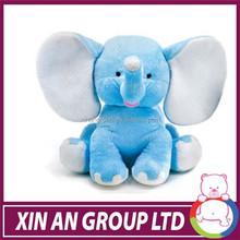 Cuddly Soft Toy,Pink Gray Elephant ,Plush Stuffed Animal toy