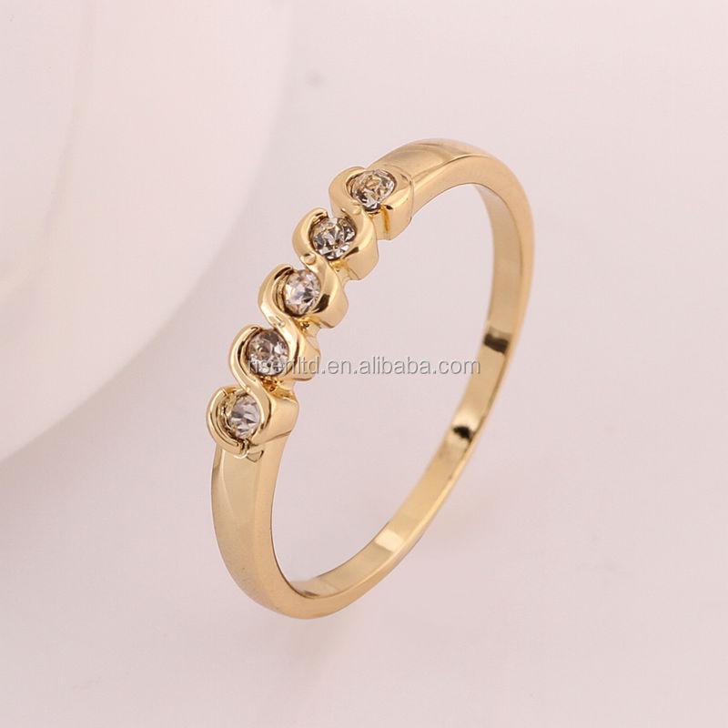 Elegant Gold Finger Ring Design for Ladies | Jewellry\'s Website