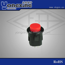 IP40 silicone electrical push button