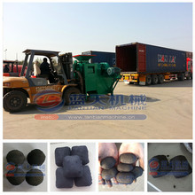 Stable performance best selling coal ball briquette making machine