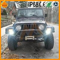 High brightness wholesale price IP68 6000K 4inch 18w used amber light bars