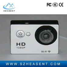 HD 1080p helmet sport action camera Large screen mini dv sport camera Alibaba hot sale product with 30m waterproof