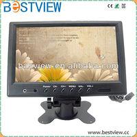 LCD CCTV monitor/Portable 9'' BNC Surveillance Car Monitor
