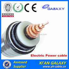 Fire Resistant Armoued 6/10KV 26/35KV XLPE Insulated Medium Voltage Cables 6.6KV 630mm XLPE Cable