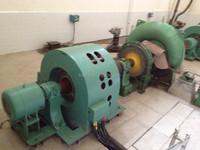 High efficiency Hydro turbine/ 750kw Francis turbine/Hydropower plant