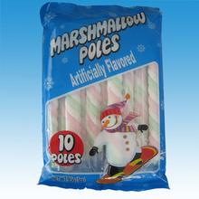 Hight quatity twist long marshmallow