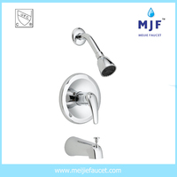 Hot and Cold Water Single Handle cUPC UPC Faucet and Shower (Model No.TSP10510CP)