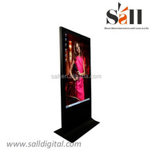 55 inch 3g wifi floor stand lcd touch screen advertising display