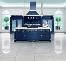 Azul safira armário de cozinha, Sonho móveis de cozinha, Grande armários de cozinha Design ( BF08-7058 )
