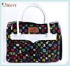 Popular pet dog carrier, Leather dog handbag with side open