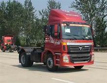 4183SLFKA-05ZA02, Auman 4*2 TX Euro II foton left hand drive tractor truck, used tire