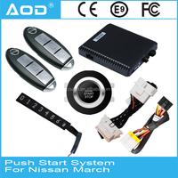 CAN BUS PKE push button start stop system remote start for Nissan March