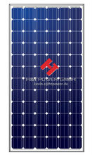 Mono crystalline 310w High Efficiency 1w to 300w Photovoltaic Solar Panel With Frame And MC4 Connector