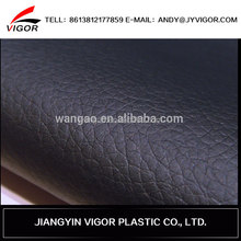 2015 new design pvc cow split leather for car seat