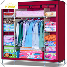Large Capacity Fashion Small Wardrobes For Small Bedrooms
