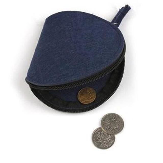 安い男性コインソーター財布卸売フェルト財布コイン財布