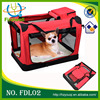 high quality pet travelling bag expandable pet dog carrier