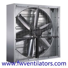 Cooling and energy save fresh air storeroom wall window axial fan
