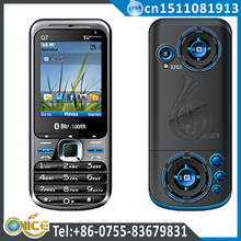 Q7 fm transmitter mobile phone 2.2 inch dual sim analog tv mobile phone support FM Bluetooth MP3/MP4 torch light MSN,MMS,GPRS