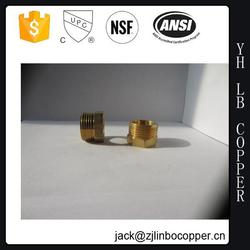 217-02 brass pipe fitting tees (BRASS MALE SWEAT ELBOW90(BARB X MALE SWEAT)FTG.)(LEAD FREE)