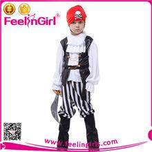 bel ragazzo cosplay partito halloween bambini costume da pirata