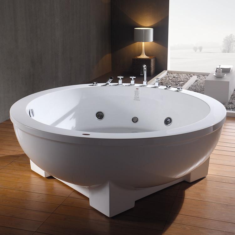 Long life time acrylic bathtub with brilliant shine for Best acrylic bathtub to buy