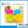 Better Home & Garden Creative Pure Color Plastic Salad and Fruit Bowl with the Spoon