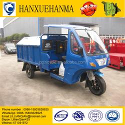 trike Chopper Three Wheel Motorcycle /heavy Duty Truck/Tipper Truck Capacity Garbage Tricycle