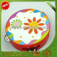Wooden tambourine -wooden musical instruments toys