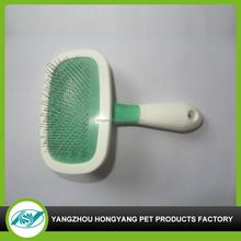 pet rotating natural bristle hair brush