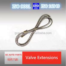 flexible valve extension