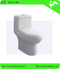 ONE PIECE TOILET WITH SOFT CLOSE SEAT COVER GOOD QUALITY FLUSH MECHANISM