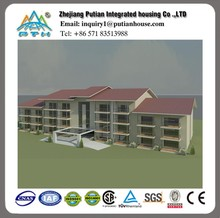 affordable modular high rise steel structure prefab steel building