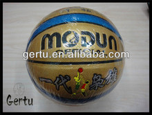 promotional Good touch pvc basketball