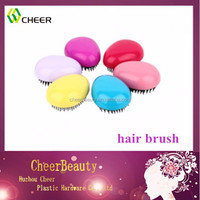 mini new style colorful round detangle hair brush