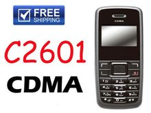 FREE Shipping C2601 CDMA cell phone FM Radio