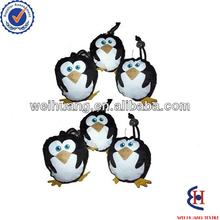 folding animal shape shopping bags with penguin