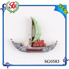 SG0583 2015 Portugal Fashion Novelty Sailboat Souvenir, Tourist Souvenir Fridge Magnet