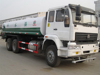 Low price hot sale truck stainless steel water tank