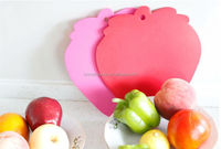 small mini lovely plastic cutting board/strawberry cutting board/cartoon chopping board