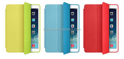 Mobile accessories Magnetic Smart Leather Cover + Back Case leather case for apple ipad air 2 made in china